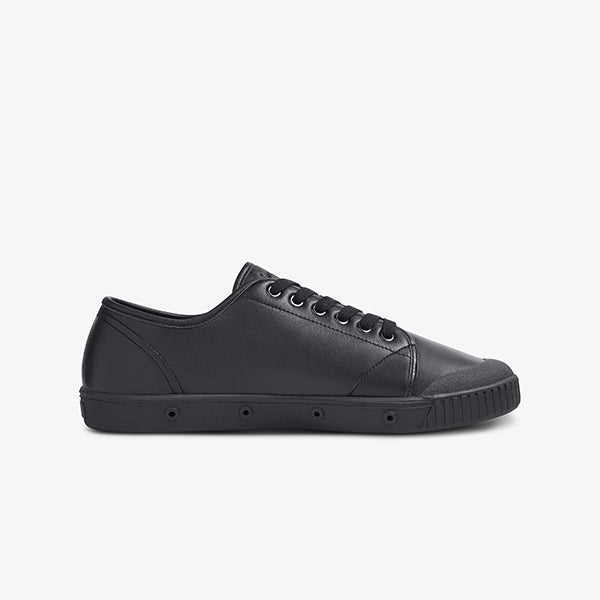 Classic Black Women's Lace Up Springcourt Shoe
