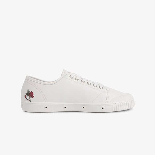 Springcourt Left White Womens sneaker side view