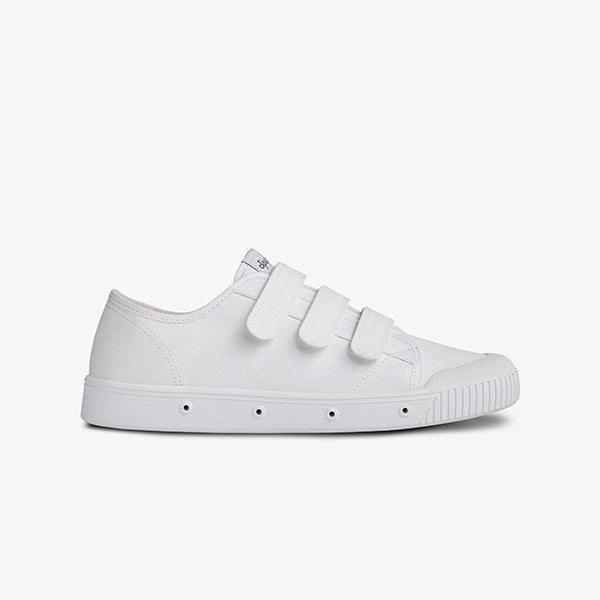 Womens Organic Scratch Canvan Low Cut White Sneakers