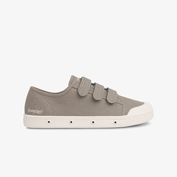 Organic Canvas Velcro Springcourt in Kaki