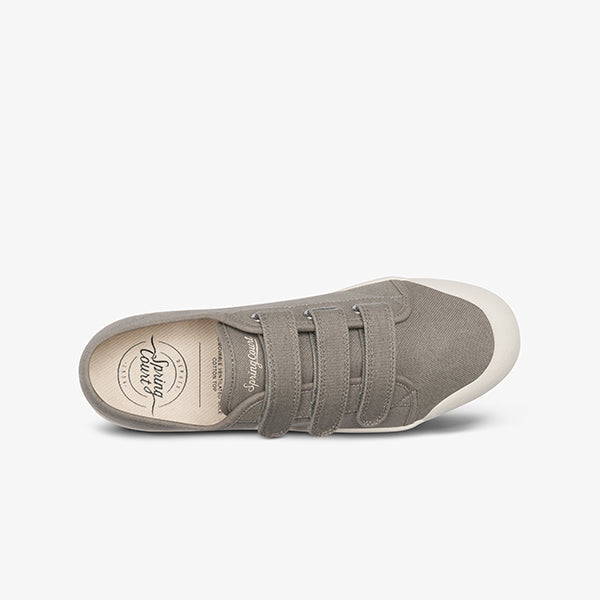 top view Kaki Organic Canvas women's sneakers