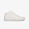 Womens Lambskin Sneaker mid cut side view