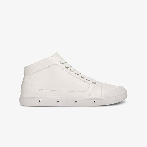 M2N A001 - White Leather