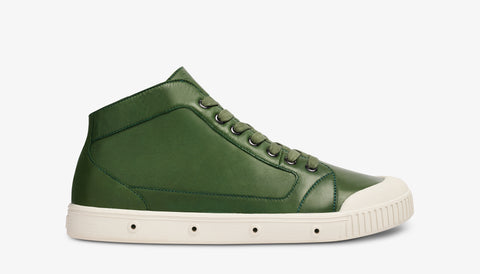 M2N Lambskin Leather - Forest Green