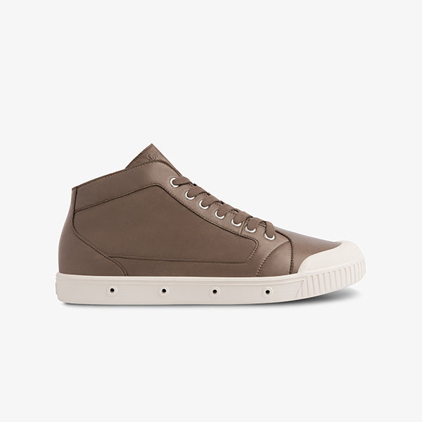 Mid Cut Lambskin Leather Springcourt sneakers