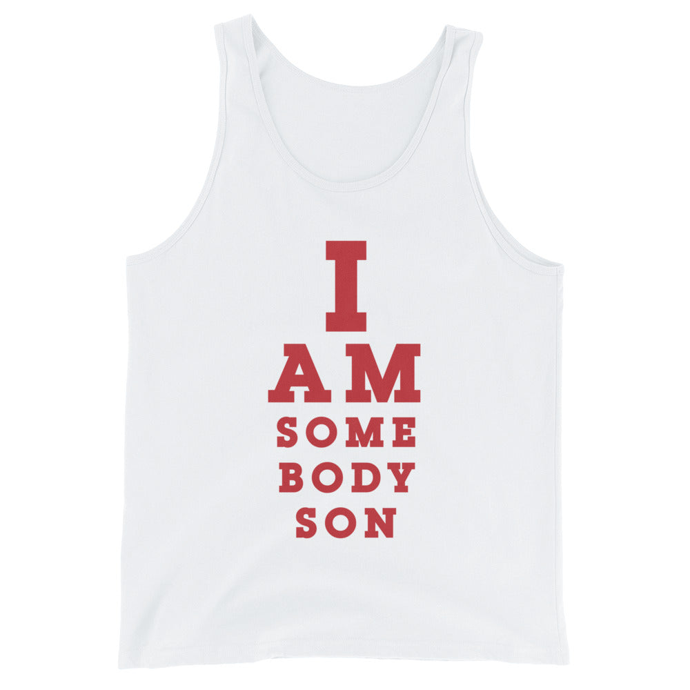 Somebody Son Eye Chart - Tank Top