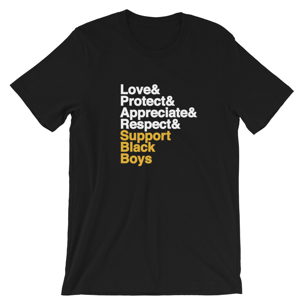 Support Black Boys T-Shirt