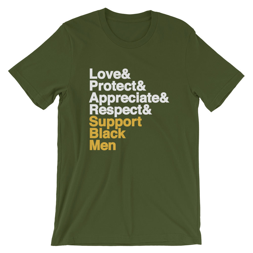 Support Black Men - Unisex T-Shirt