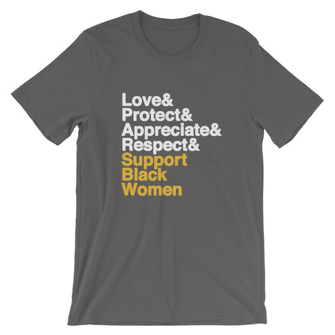Support Black Women - Unisex T-Shirt