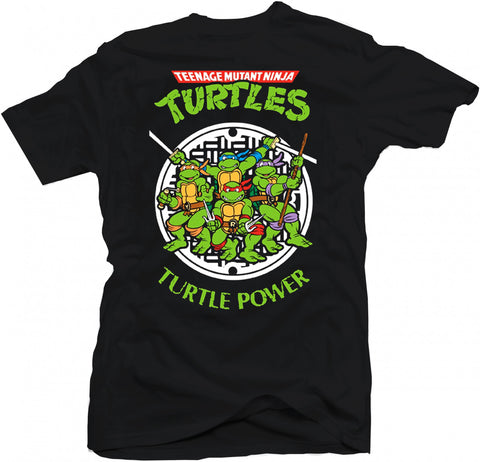 Teenage Mutant Ninja Turtles Retro Cartoon TMNT TV Movie Kung Fu Karate T-Shirt - theteehouse