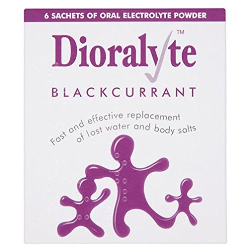 Dioralyte Rehydration Powder Sachets - Blackcurrant Flavour (Pack of 6) - Migraine Relief Store