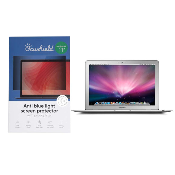 Ocushield Anti Blue Light Screen Protector - Apple Macbook Air 11' - Migraine Relief Store