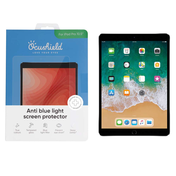 Ocushield Anti Blue Light Screen Protector - Apple iPad Pro 10.5 - Migraine Relief Store