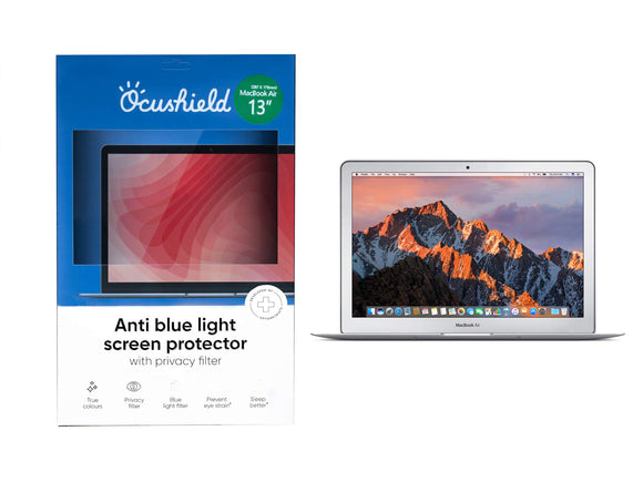 Ocushield Anti Blue Light Screen Protector - Apple Macbook Air 13' - Migraine Relief Store