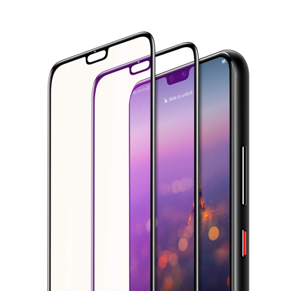 Anti Blue Light Screen Protector - Tempered Glass for Huawei P20 Pro - Migraine Relief Store