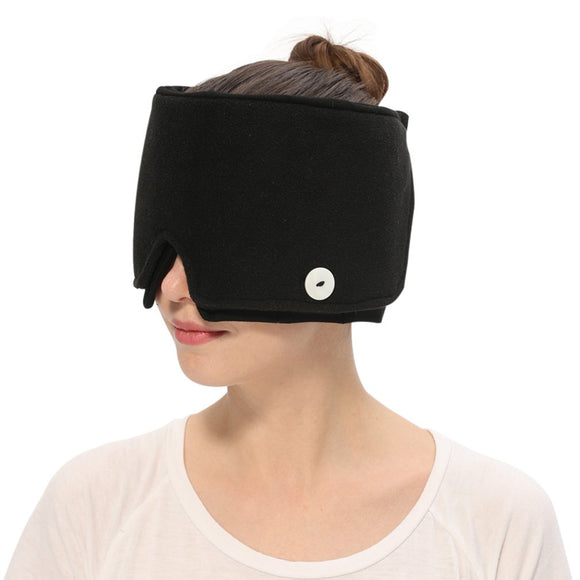 Wearable Ice Cold Therapy Pack Head Wrap & Eye Mask - Migraine Relief Store