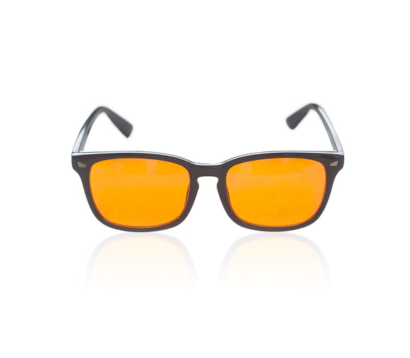 Foxmans Advanced Blue-Light Blocking Computer Glasses - Amber - 98.5% Blocking Lens - Migraine Relief Store