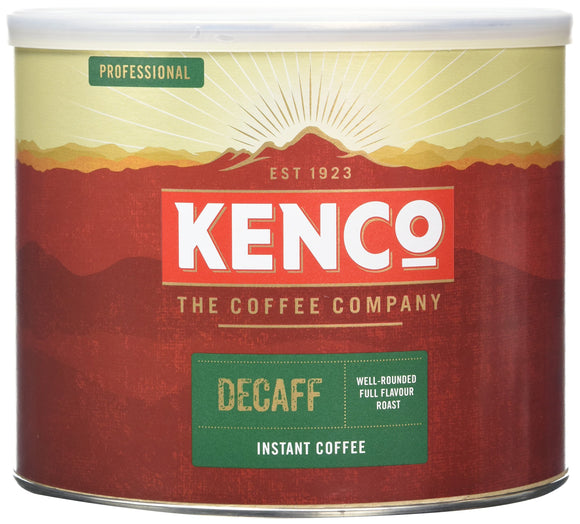 Kenco Decaff Instant Coffee (500g Tin) - Migraine Relief Store