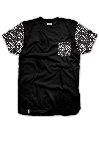 Dench Pocket Tee Black