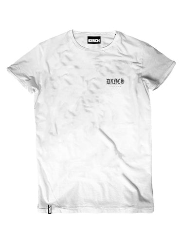 Don't Go Broke- White Tee