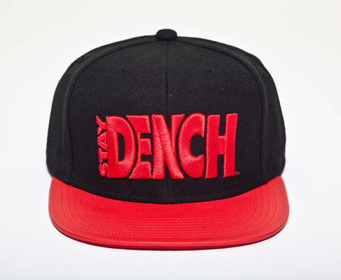 Dench Logo Classic Black / Red SnapBack