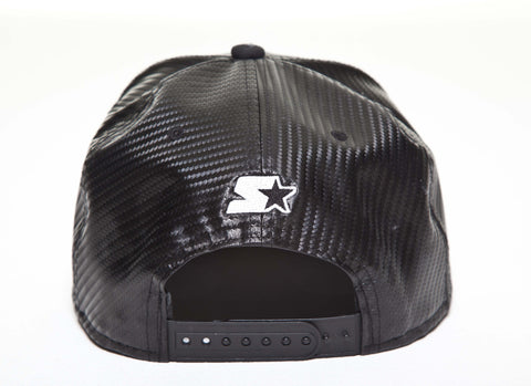 Dench Carbon Fibre Snapback Black