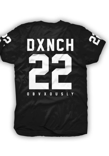 DXNCH 22 Tee in Black