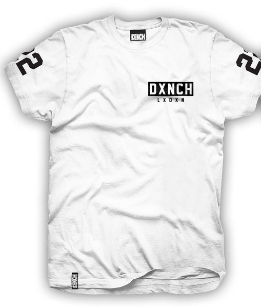 DXNCH 22 Tee in White