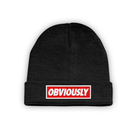 Obviously Beanie Black