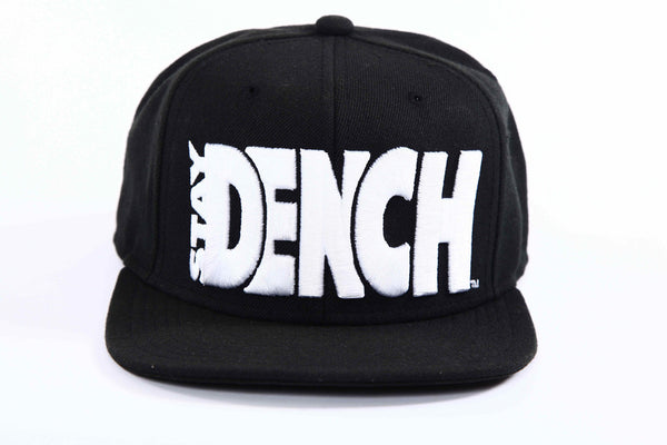 Kids Dench Snapback Black/White