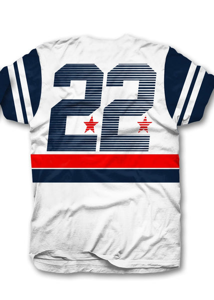 Dench Stripes 22 - White/ Blue