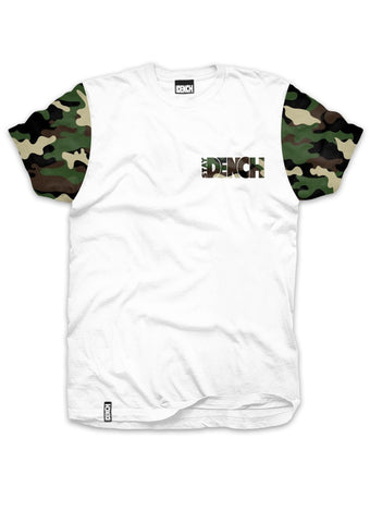 Dench Camo Tee White
