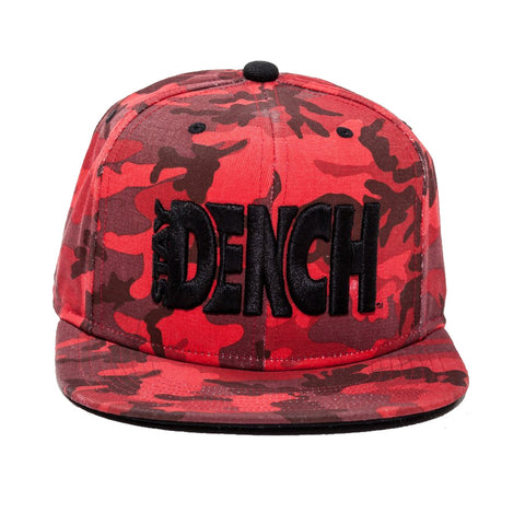 Dench Red Camo Snapback
