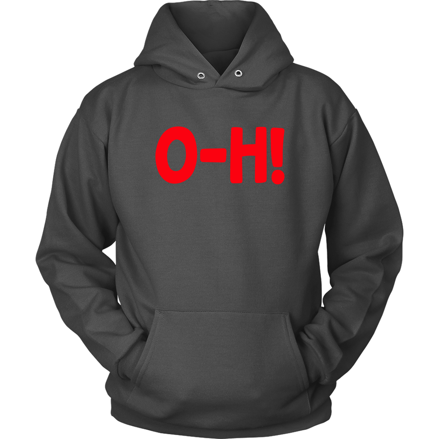 O-H! I-O! Grey/Black  COMBO COUPLES Hoodies