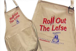 """Roll Out The Lefse"" Apron"