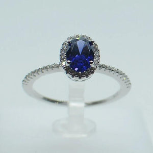 Oval Tanzanite Ring - KAISWAI LLC