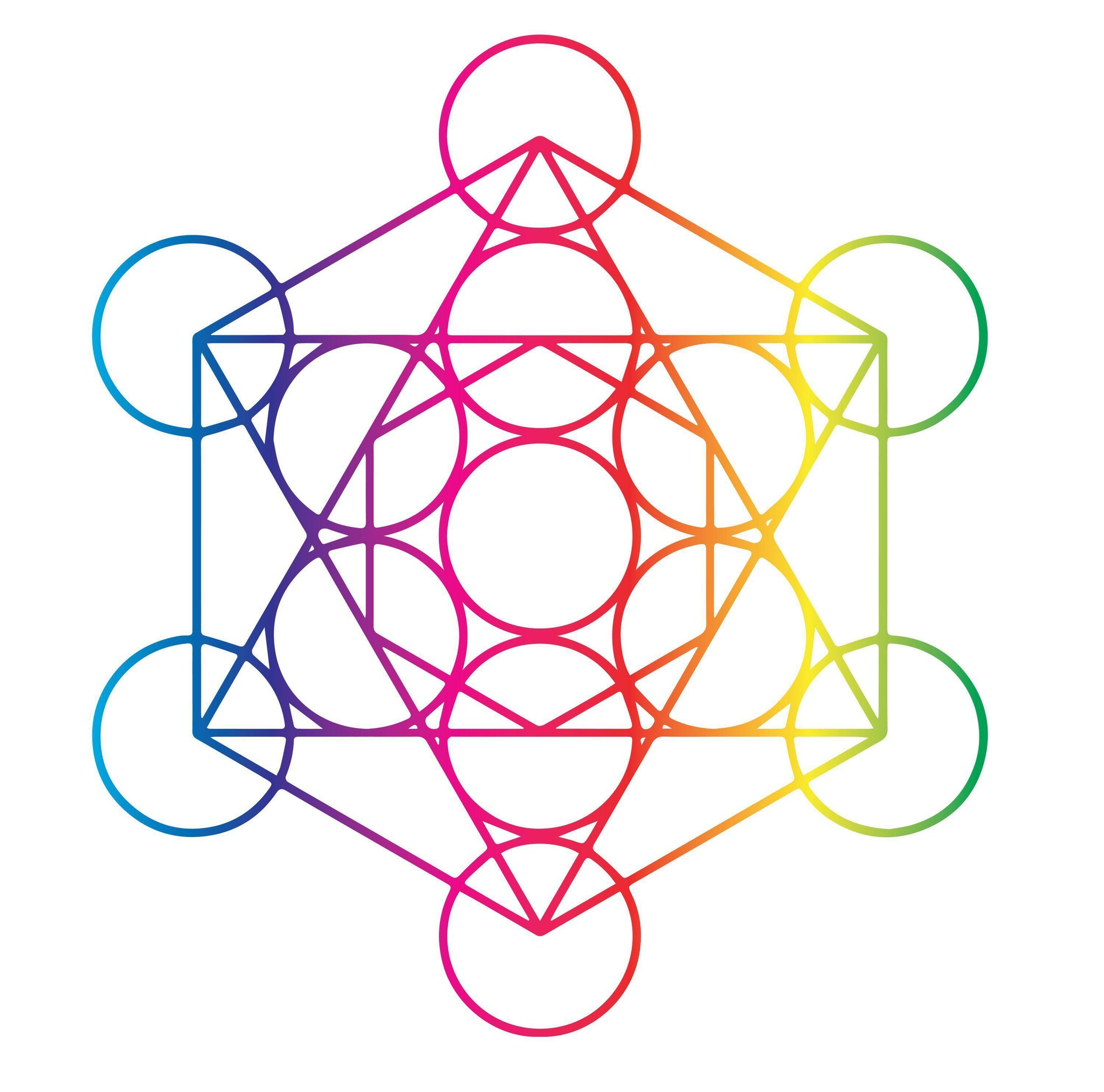 27e7a9274 Load image into Gallery viewer, Rainbow Sacred Geometry Pack-Tattoo Moments  ...