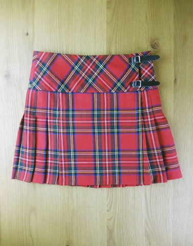 Ladies Pure Wool Mini Kilt - Royal Stewart