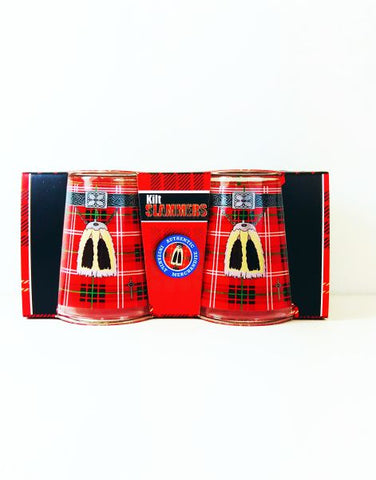 Scotland Kilt Slammer Shot Glasses
