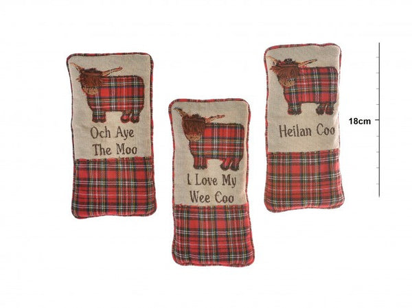Highland Cow Spectacle Pouch