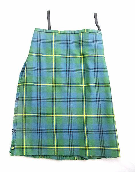 Pure Wool Kilt - Johnston Old Colours Tartan - Made in Scotland (Ex-Hire)