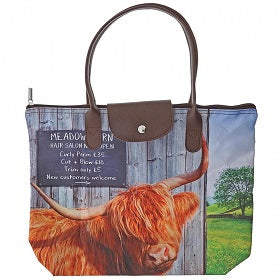 Meadow Barn Foldaway Tote Bag