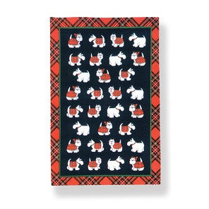 Westie Scotland Tea Towel