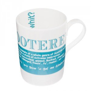 China Mug - Scottish Dialect Word (Blootered)