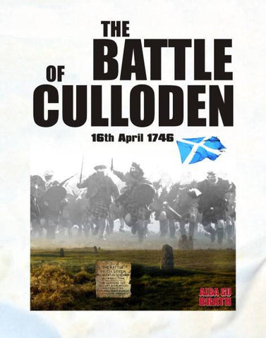 Battle of Culloden Adult T-Shirt