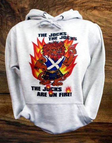 "Unisex Adult Hoody ""The Jocks Are On Fire!"""