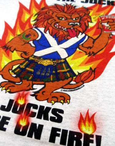 The Jocks Are On Fire - Adult T-Shirt
