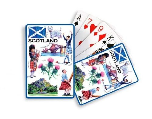 Iconic Scotland Playing Cards