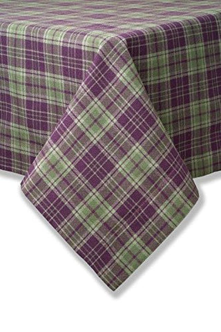"Highland Plaid Tablecloth 34"" x 34"" sq"