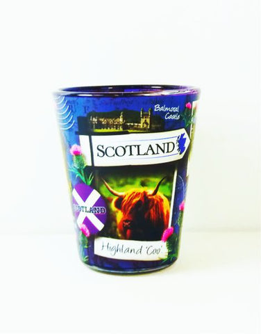 Scotland Snapshot Shot Glass